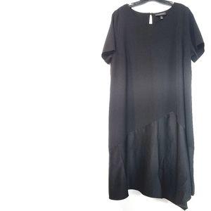 18/20 Lane Bryant Black Short Sleeve Dress